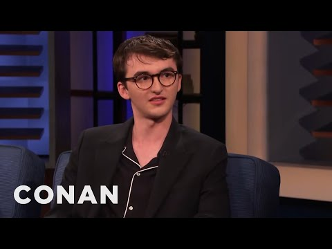 """Isaac Hempstead Wright Can't Remember What Life Was Like Before """"Game Of Thrones"""" - CONAN on TBS"""