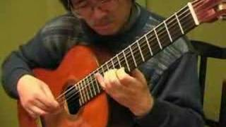 Classical Guitar of Tabei Handel Sarabande