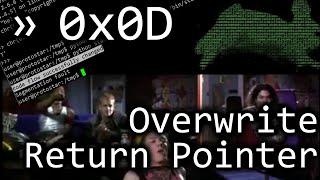 Buffer Overflows can Redirect Program Execution - bin 0x0D