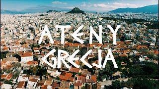 ATENY | Greckie jedzenie i top miejsc do odwiedzenia w mieście | GRECJA | Co zobaczyćw Atenach