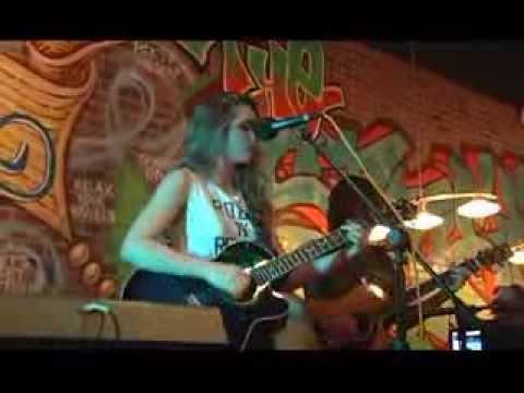 Emily Bronzini performing