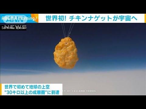 世界初!チキンナゲットが宇宙へ 88万個分の上空に(2020年10月15日)