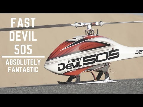 ALZRC Fast Devil 505 RC Helicopter in High Speed Maiden Flight