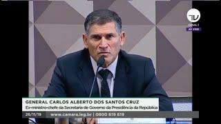 CPMI das Fake News - Depoimento do general Santos Cruz - 26/11/19