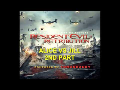 Resident Evil Retribution Soundtrack - Alice VS Jill 2nd Part