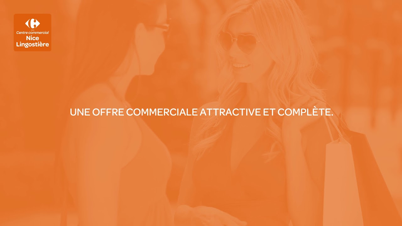 Centre Commercial Carrefour Nice Lingostiere Projet Youtube