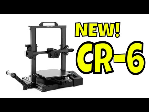 NEW! Creality CR-6 SE 3D Printer - Better than Creality Ender 3?