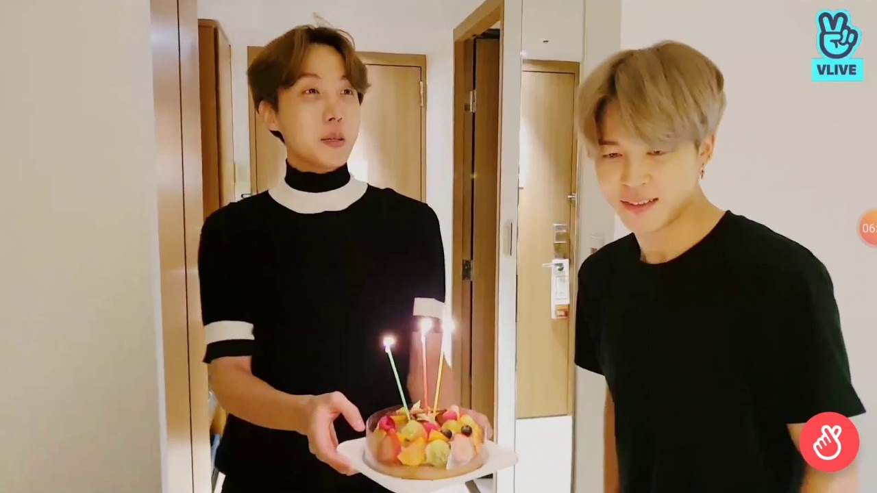 Celebrate Jin Birthday Vlive 2019 Youtube