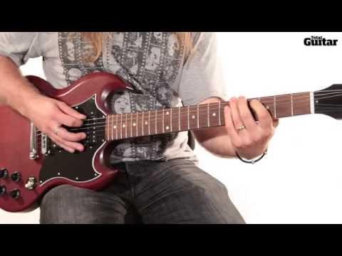 Guitar lesson: Band Of Skulls - Asleep At The Wheel (bridge riff)