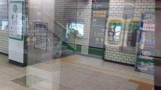 2호선 외선순환 227편성 선릉역 발차영상