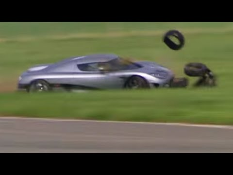 Stig Crashes The Koenigsegg CCX | Top Gear