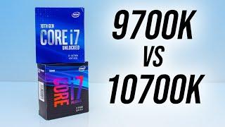 Intel i7-10700K vs i7-9700K - Does Hyperthreading Matter?
