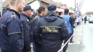 Alba24 VIDEO: Protest Penitenciar Aiud, 13 octombrie