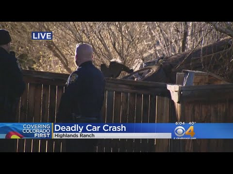 Deadly Car Crash In Highlands Ranch