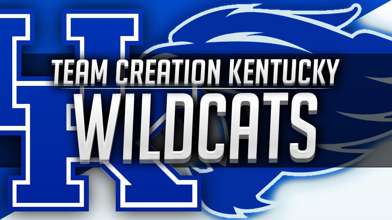 5282e4b7e6fa58 NBA 2K16  Kentucky Wildcats Team Creation by Envyerz