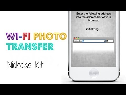 WiFi Photo Transfer - Easily Access your iOS Photo Album via WiFi From PC / Mac