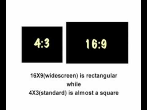 Aspect Ratio Video