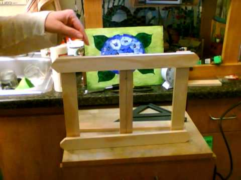 canvas board picture frame short video