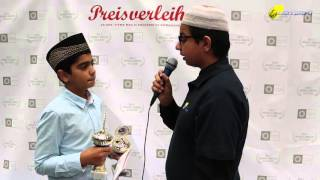 Danish Nawaz - Rede Deutsch - Salana Ijtema 2015 - Majlis Atfal-Ul-Ahmadiyya Deutschland