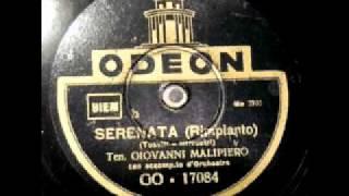 Malipiero Giovanni, Serenata -Rimpianto (Toselli- Silvestri)