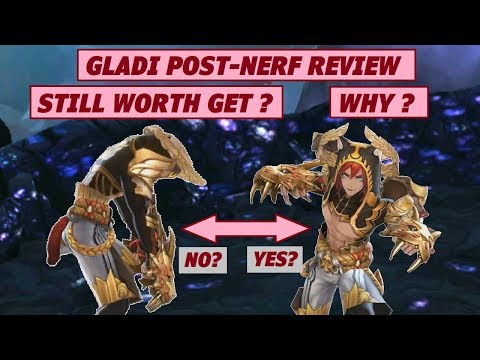 King's Raid - Gladi Post Nerf Review + Still Worth Getting or Not? + New Performance Test in BD73