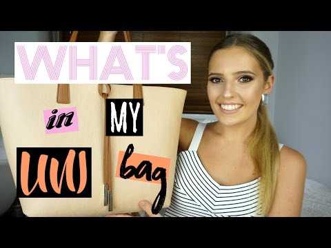 WHAT'S IN MY UNI BAG 2017!