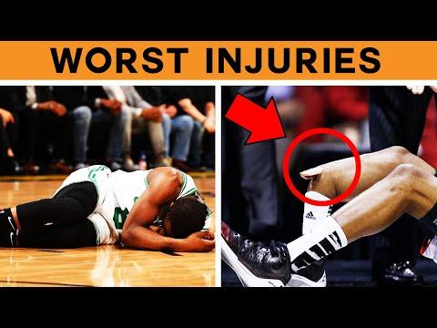 10 Scariest Injuries Of 2019-2020 NBA Season