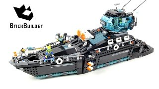 Lego Ultra Agents 70173 Ultra Agents Ocean HQ - Lego Speed Build thumbnail