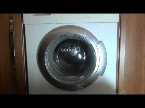 Siemens Serie IQ1430 Washer : Outdoor 30'c mini load