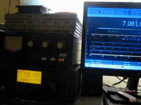 Homebrew CAT Icom IC-718 with HRDlog