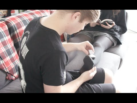 c44af600e Pasc  Foot Massage   Tights (Request By green123771) ASMR - YouTube