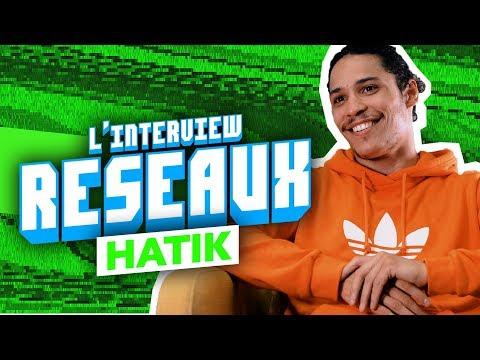 Youtube: Interview Réseaux Hatik: Le code de l'horreur tu stream? Gigi Hadid ça match? Friends tu binges?