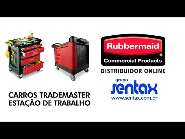 Carro de Ferramentas - Trademaster - Rubbermaid