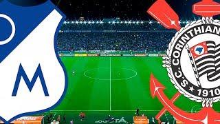 MILLONARIOS-COL X CORINTHIANS | JOGO COMPLETO HD 1080p60 | Taça Libertadores 2018 | 28/02/18 | Globo