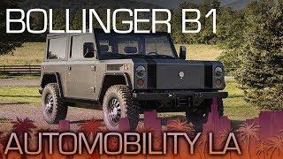 Bollinger B1: One Serious Electric SUV - LA Auto Show 2017
