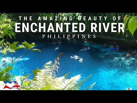The MYSTERY of ENCHANTED RIVER IN THE PHILIPPINES