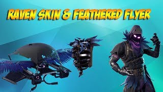 Raven Skin & Feathered Flyer Out Now!! (Fortnite Daily Store update 4-5-18)