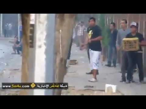 En Égypte :  Il filme l'homme qui lui tire dessus