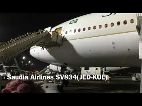Saudia Airlines SV834(JED-KUL) B777-368ER (HZ-AK26)