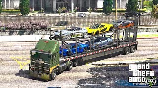 GTA 5 REAL LIFE MOD #372 CARS DELIVERY !!! (GTA 5 REAL LIFE MODS)