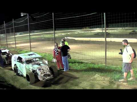Prescott Valley Raceway Mod-Lite Trophy Septemebr 5, 2010 PVR Anthony Platt #7
