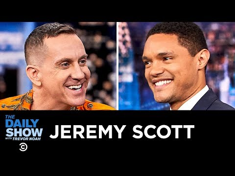 Jeremy Scott – Using Fashion to Change the Way the World Thinks | The Daily Show