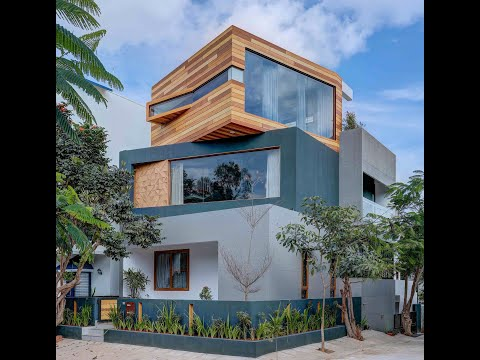 Helvetica - A Modern Architectural project in Bangalore