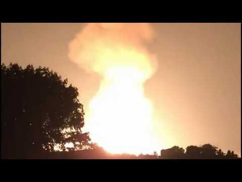 Massive Explosion Rocks TransCanada Pipeline In West Virginia