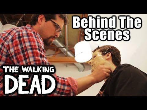Walker Make-Up Behind The Scenes (The Walking Dead)