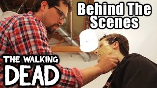 Walker Make-Up Behind The Scenes (The Walking Dead)