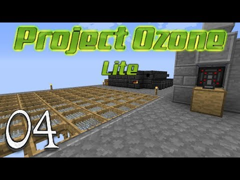 Minecraft Project Ozone Lite - Big Sieve Tinkers Smeltery And Auto Dirt (4)