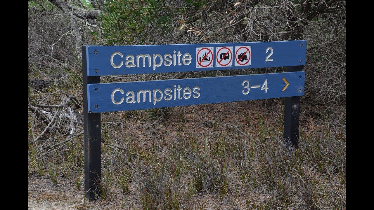 Stumpys Bay Number 2 Camping - Campsite Tasmania Map Videos