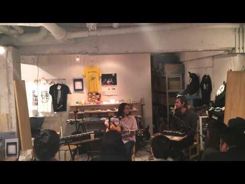 TOMO NAKAYAMA / YUUKI MATTHEWS (THE SHINS) instore show @zankyo shop 2014.11.14
