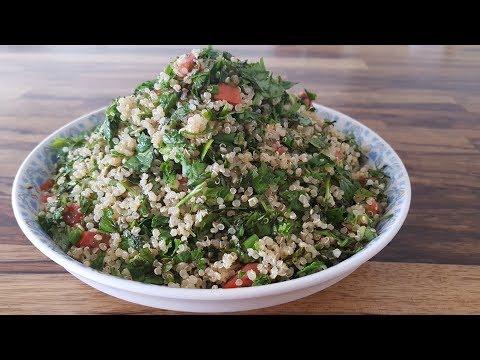 Quinoa Tabbouleh Salad | Super Healthy Quinoa Salad Recipe